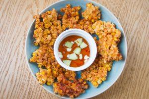 Tajskie placki z kukurydzy